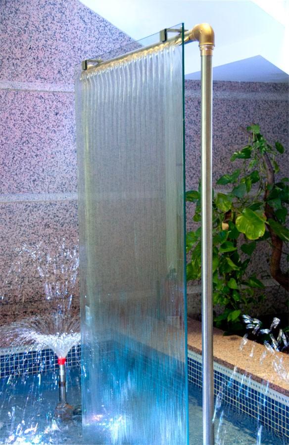 Cortinas de agua cishsa comercial - Fuentes decorativas de agua ...